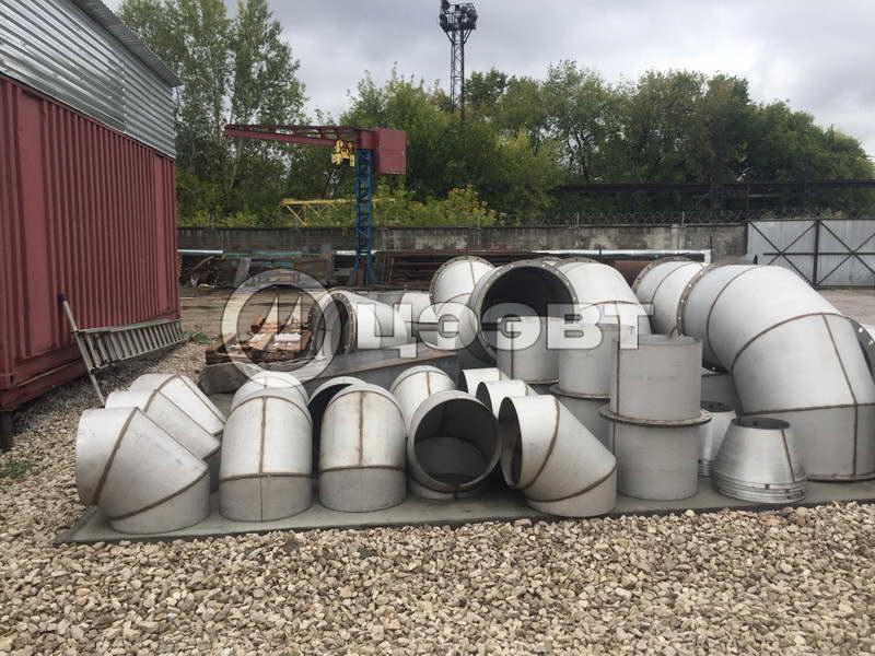 Газоходы и детали трубопроводов рис.5